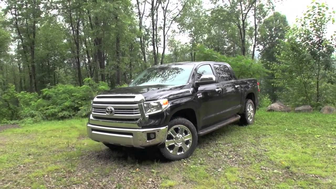2014 Toyota Tundra 1794 Editon Youtube