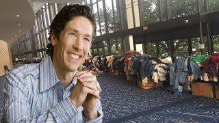 Medical Volunteer Says Joel Osteen Has Armed Guards Refusing Access To Donations