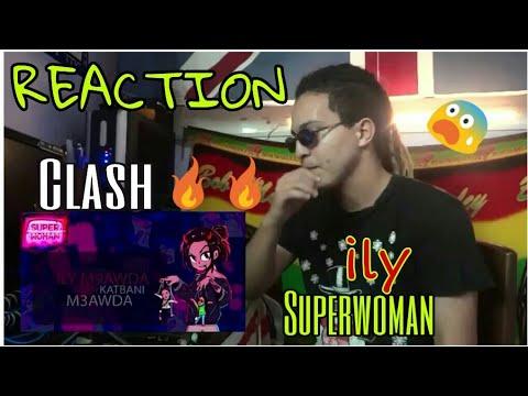 ILY - SUPERWOMAN (Official Lyric Video) [REACTION] | Clash.Manal