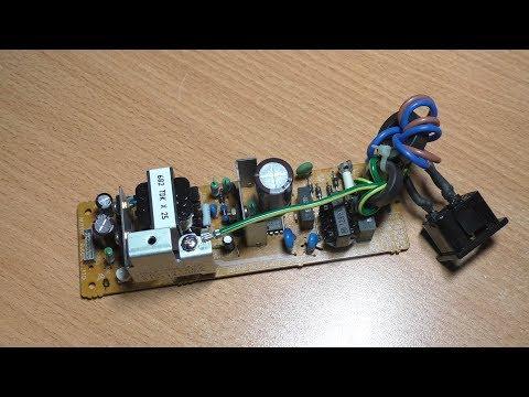 Осмотр и тест блока питания PFLP1282EZA-LC (SRF1018EK) от факса Panasonic