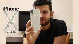 Unboxing iPhone X - פתיחת קופסא אייפון 10