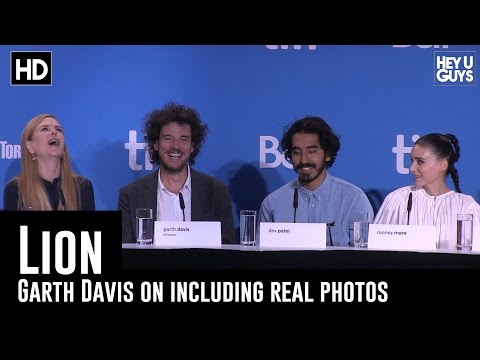 Garth Davis on Using Real Footage & Photos - Lion Press Conference (TIFF 2016)