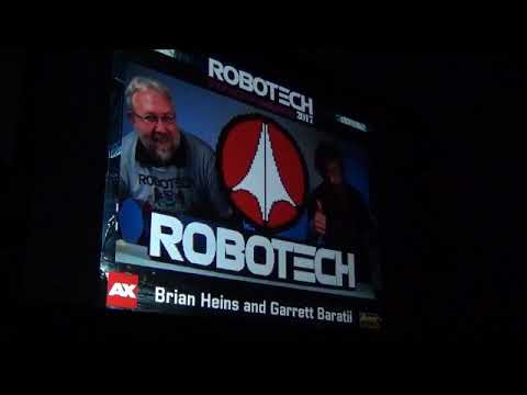 AX 2017 ROBOTECH PANEL PART 1 OF 2