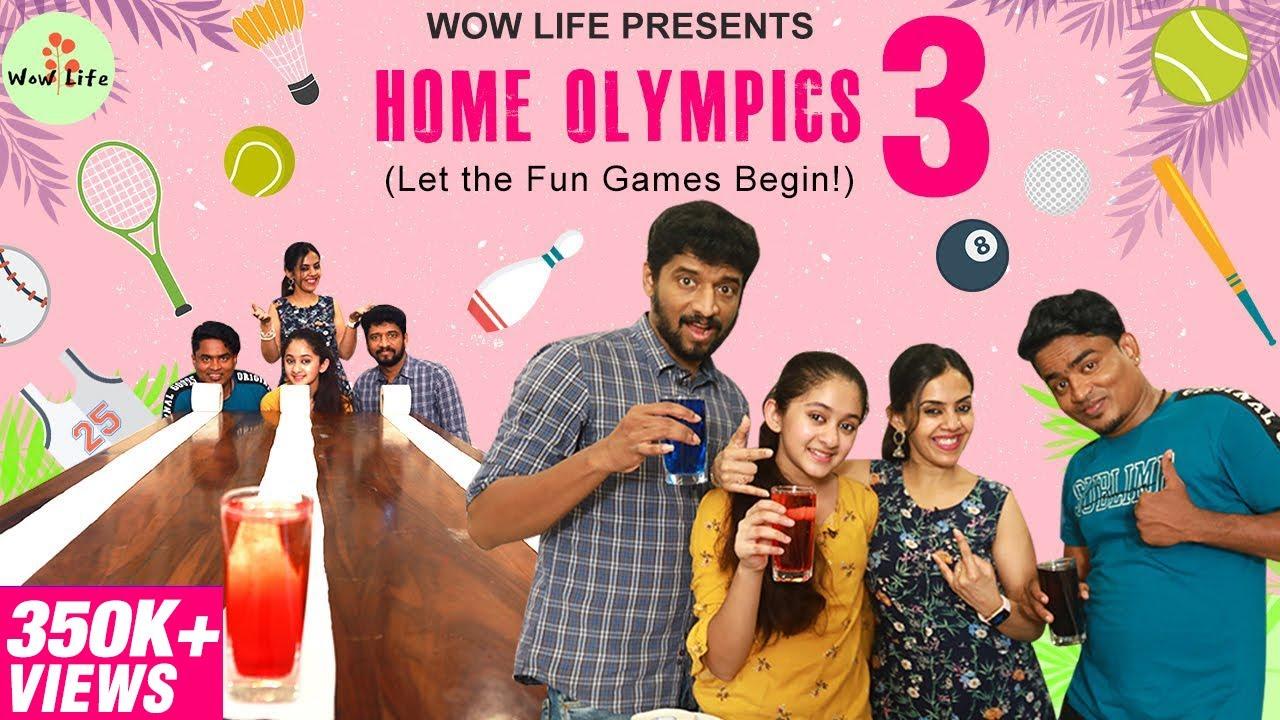 Wow Life Presents Home Olympics 3 | Fun Games | Fun Family #HomeOlympics #WowLife #WowLifeZaara