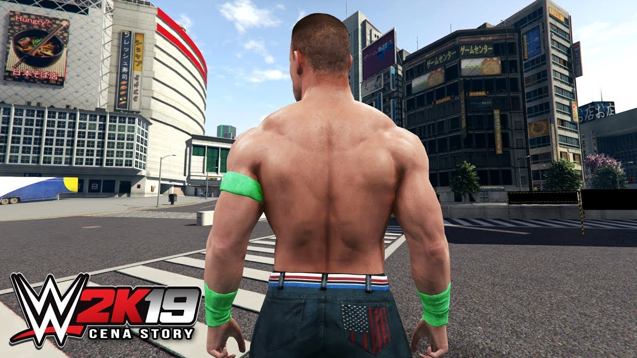 WWE 2K19 Story - John Cena Travels to JAPAN To Sign *NEW