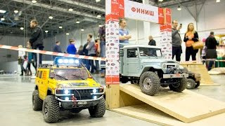 Best of RC Cars Demo - HobbyTime 2016 (video 1 of 4) | Hummer H2, Toyota FJ 45 and Jeep Rubicon