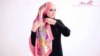 All About Square Scarf - Shawl Tutorial by MuslimahClothing.com