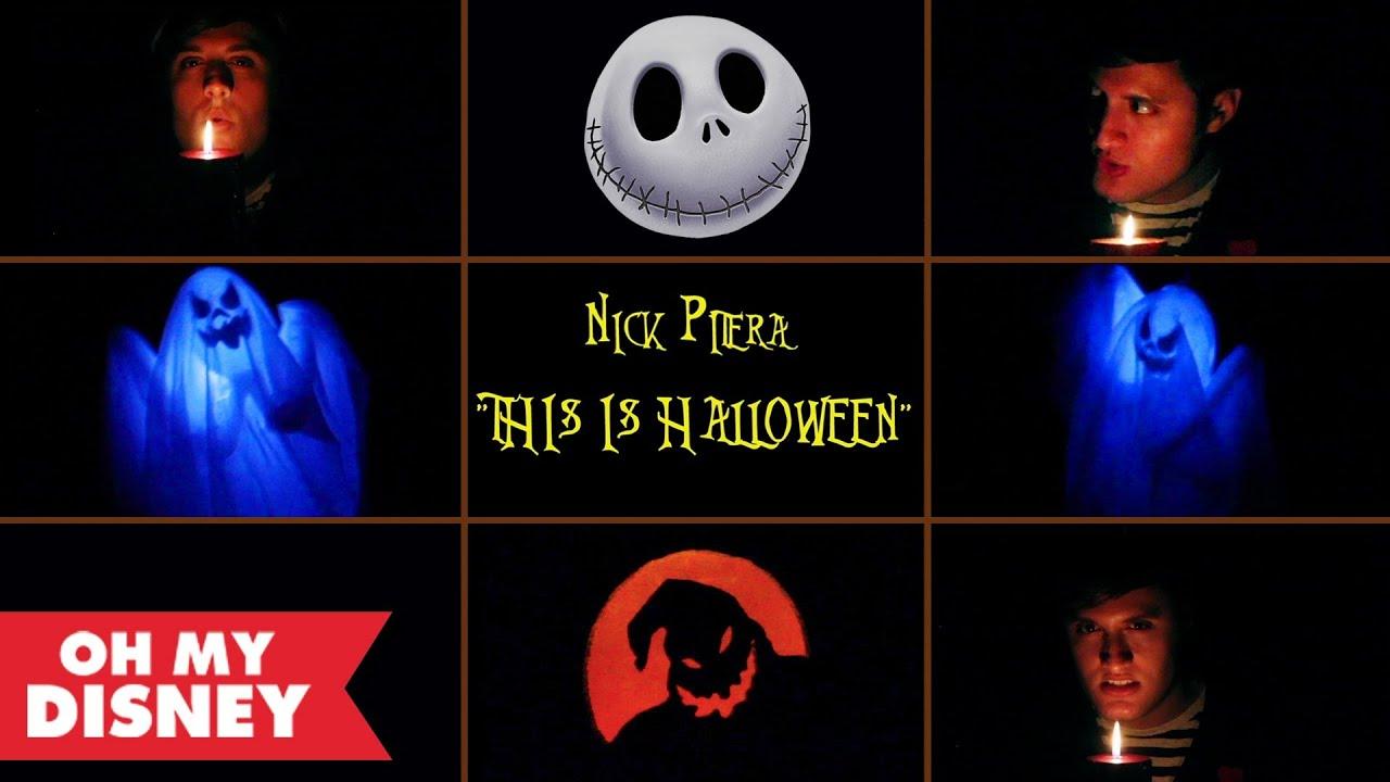 nick pitera | this is halloween | oh my disney - youtube