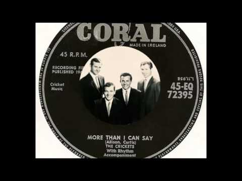 The Crickets - More Than I Can Say  (1960)