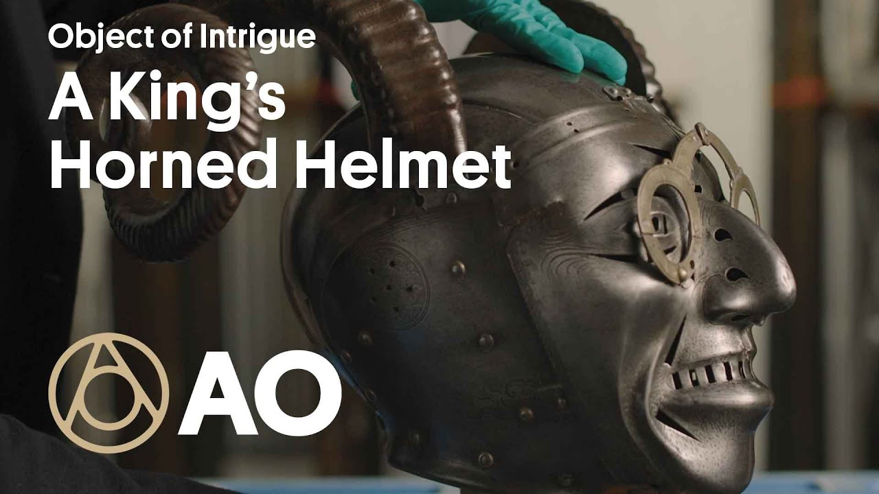 See the Mysterious Horned Helmet