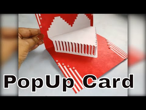 DIY Love Pop up Card | Paper Crafts | Handmade Craft