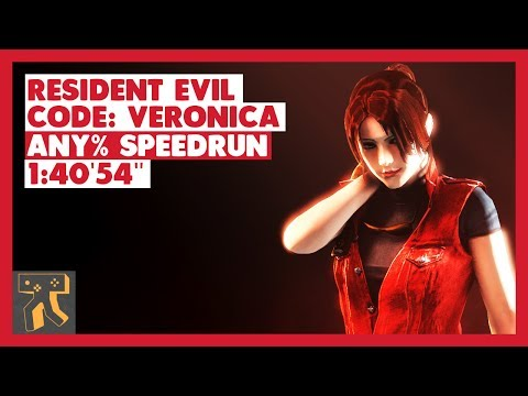 Resident Evil: CODE: Veronica X HD [PS3] Speedrun - 1:40'54