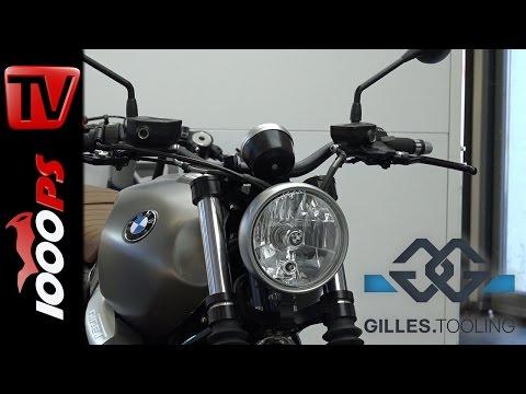 gilles.tooling Zubehör für die BMW R nineT Scrambler