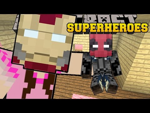 Thumbnail: Minecraft: SUPERHEROES (BECOME EPIC HEROES & VILLAINS WITH POWERS!) Mod Showcase