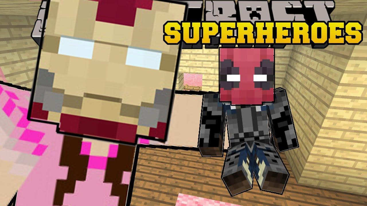 Мод на супергероев (Superheroes Unlimited) для Майнкрафт 1 ...