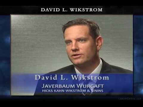 David L. Wikstrom - Legal Malpractice Cases