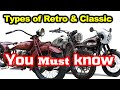 The Types Of Retro And Classic Motorcycles   You Must Know