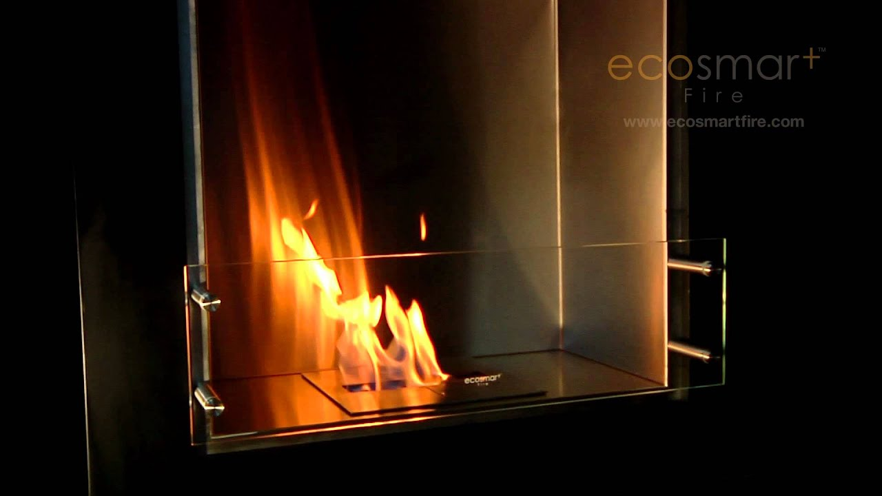 ecosmart fire cube ethanol fireplace youtube