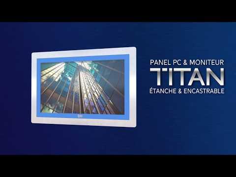 Panel PC tactile & Moniteur tactile encastrable - durci et étanche IP69