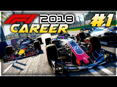 F1 2018 Career Mode Part 1: Australia - OUR NEW JOURNEY TO GLORY BEGINS!