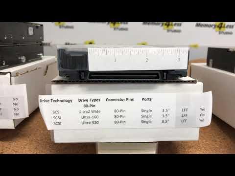 Hard Drive Connector Types Explained! - SAS, SATA, SCSI, FC, IDE