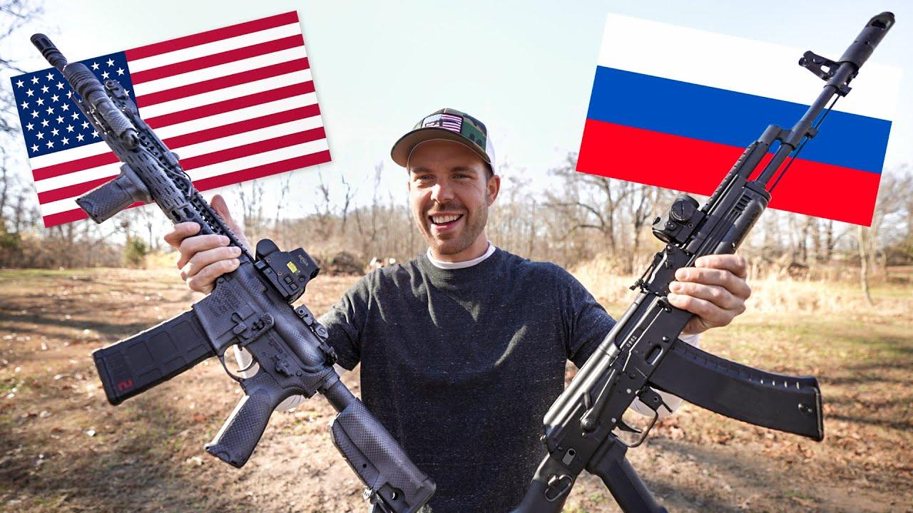 Download AR-15 vs AK-74   America's Rifle vs Russia's Rifle