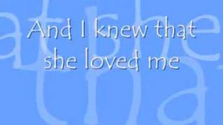 When She Loved Me - Sarah McLachlan - Lyrics