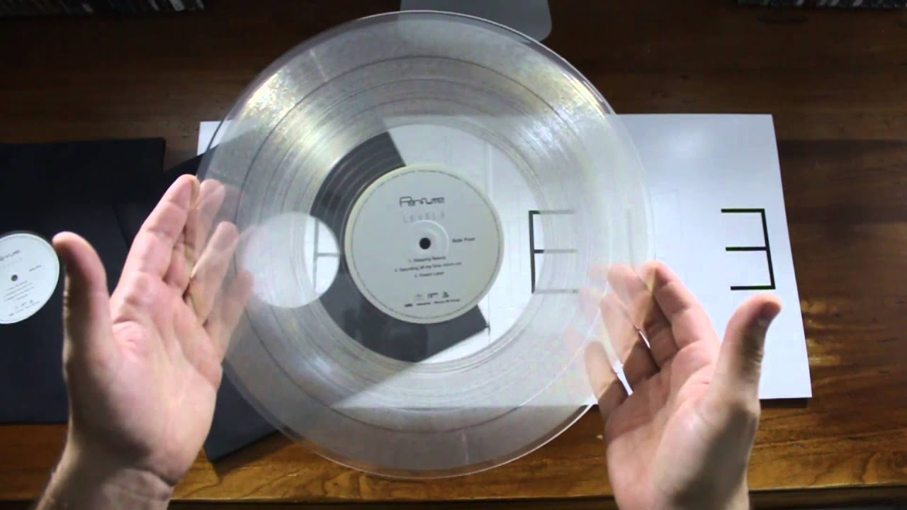 Perfume Level3 Vinyl Clear Unboxing Youtube