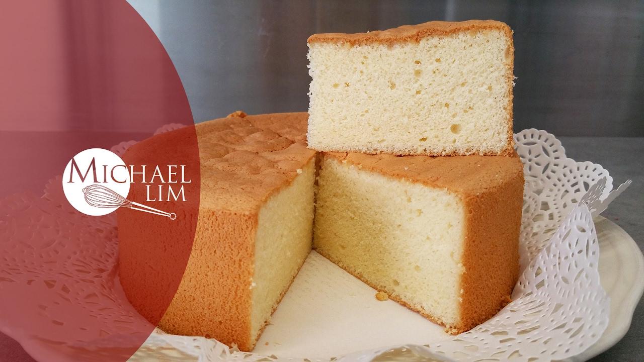 Vanilla Sponge Cake - YouTube
