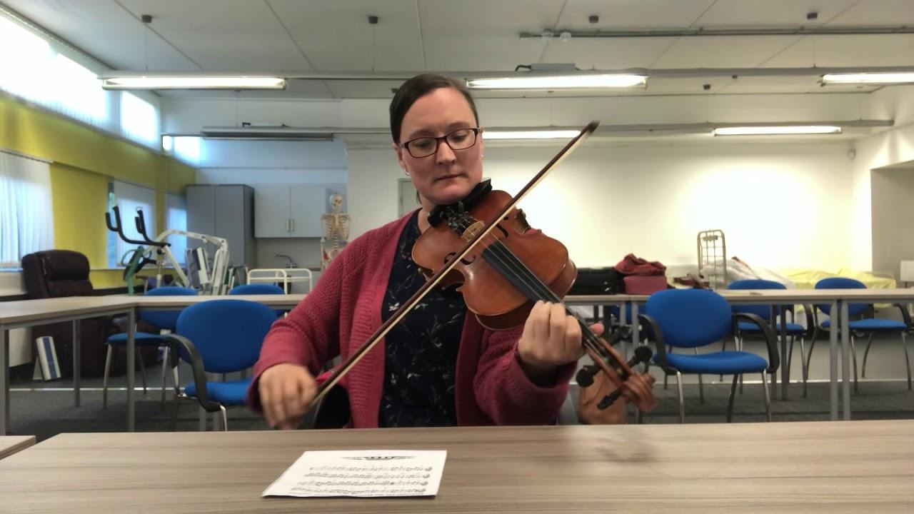 Jig of Slurs - Glasgow Fiddle Workshop Slow Session - Fiona