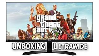 unboxing monitor gamer ips led ultrawide 29 lg 29um68