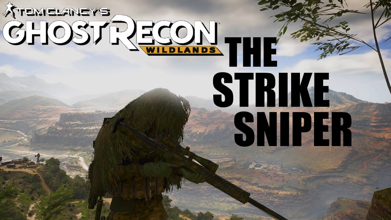 Strike Sniper Build & Loadout - GHOST RECON WILDLANDS Custom Themed Character Build