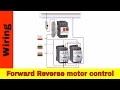Forward Reverse Single Phase Motor Diagram