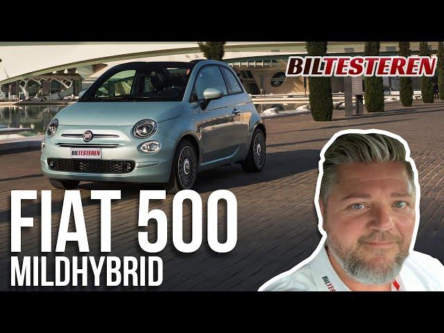 """Endelig som """"hybrid"""": Fiat 500 Mildhybrid (præsentation)"""