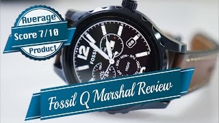 Fossil Q Marshal Smartwatch Review a Mixed Package