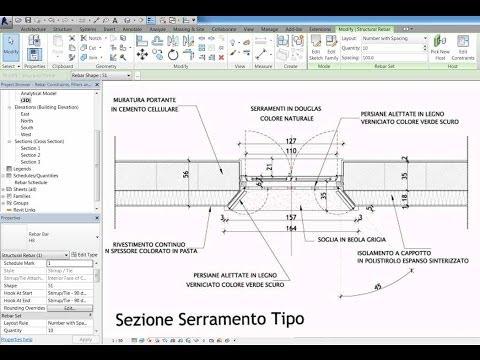 Video corso Revit Avanzato: Ristrutturazione casa colonica - Sguincio/Finestra strombata