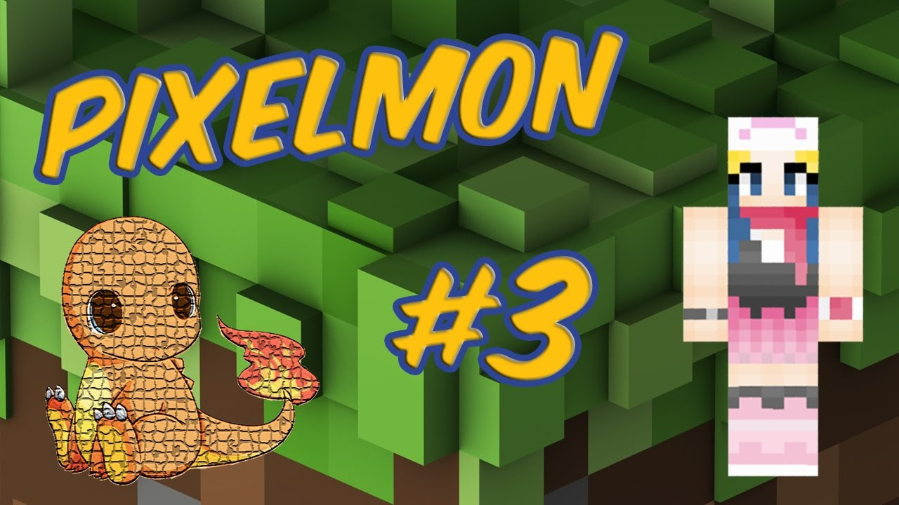 Pixelmon ep 3 ft Kodekay - YouTube