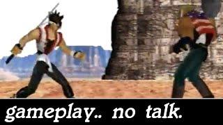 Retro Gameplay #064 - Battle Arena Toshinden URA (Sega Saturn)