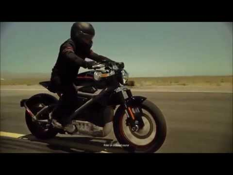 TRAILER New 2015 Harley-Davidson LiveWire Project Electric Motorcycle 74 Hp 92 Mph 0-62 Mph 4 S