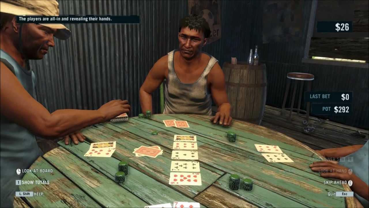 Mission poker far cry 3
