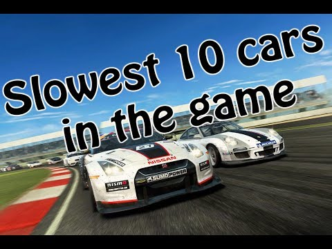 Real Racing 3-Slowest Cars On The Game-Top 10 RR3