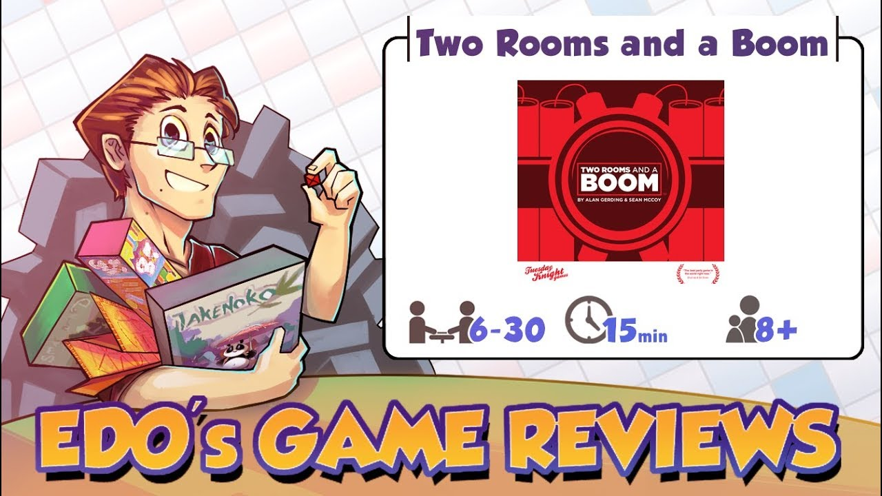 Edos Two Rooms and a Boom Review - YouTube