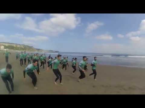 Surf camp Longbeach 2016