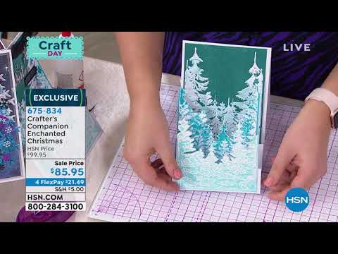 Crafter's Companion Enchanted Christmas Papercraft Kit
