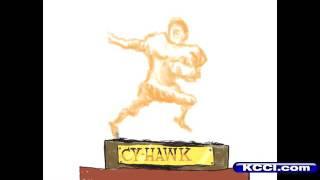Duffy Dibujos Animados: 'Cy-Hawk Trofeo: Tomar Dos'