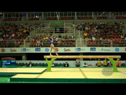 LEE Eun Ju (KOR) - 2016 Olympic Test Event, Rio (BRA) - Qualifications Balance Beam