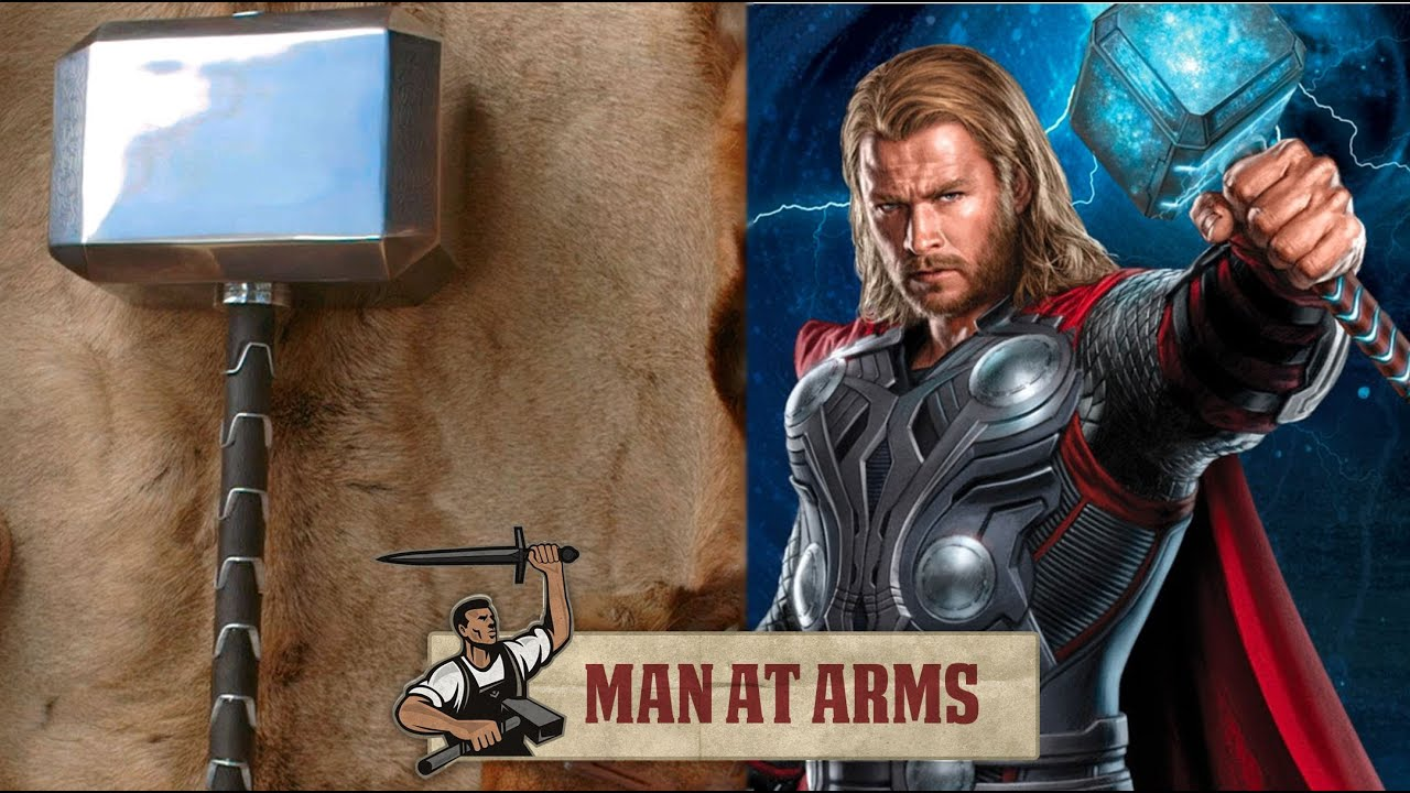 mjölnir thor the dark world man at arms youtube