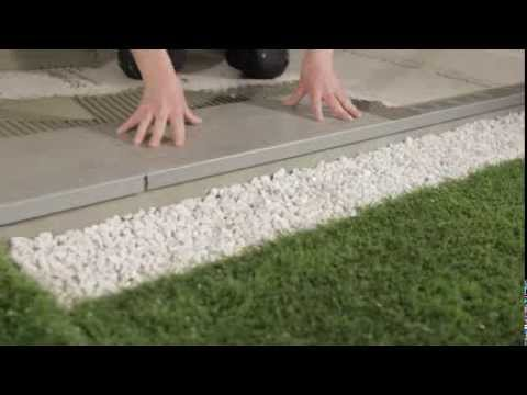 Terrasse Avec Carrelage  Dallage Sur TerrePlein  Youtube