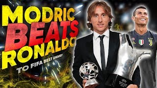 BREAKING: Luka Modric Wins The FIFA Best Award Over Cristiano Ronaldo! | Euro Round-Up