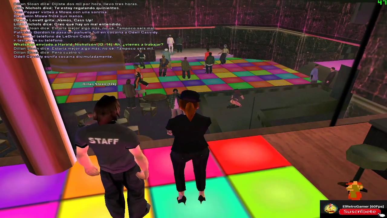 LSRP.es Concierto de Cass Up en Idols Night Club | Lilith Nichols gameplay.
